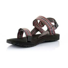 SOURCE Classic Sandalias Hombre, brown/red